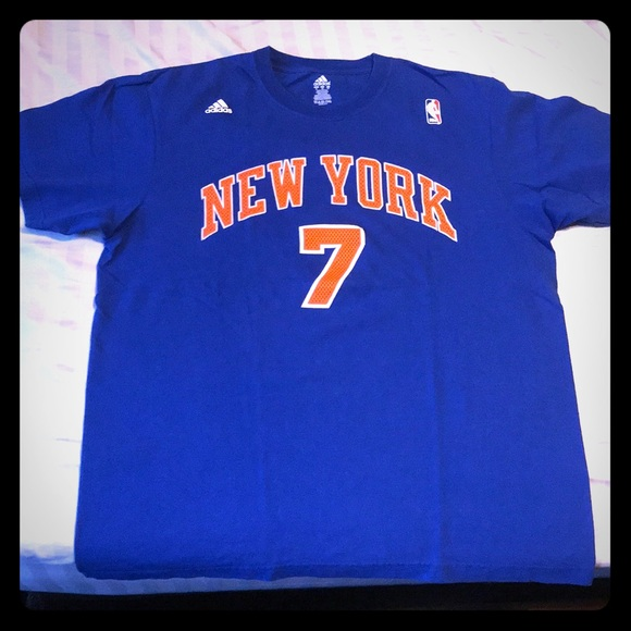 super popular 3a93b 6e7ac NY Knicks Anthony Jersey Shirt